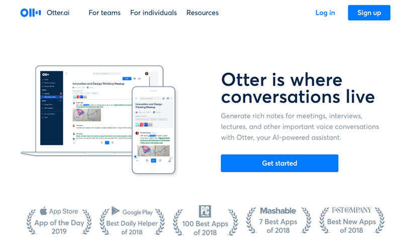 Otter ai to transcribe podcast for free and create podcast quotes